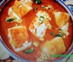 paneer butter masala recipe in hindi