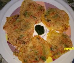 Rava Uttapam Recipe in Hindi