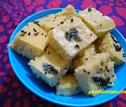 khaman recipe in Hindi
