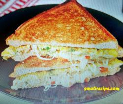 Bread omelet recipe in Hindi