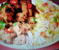 Chicken boti kabab recipe