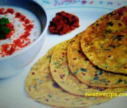 Methi ka paratha recipe in Hindi
