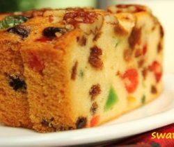 Fruit cake recipe in Hindi
