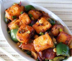 paneer chilli dry recipe in hindi
