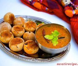 Dal bati recipe in Hindi